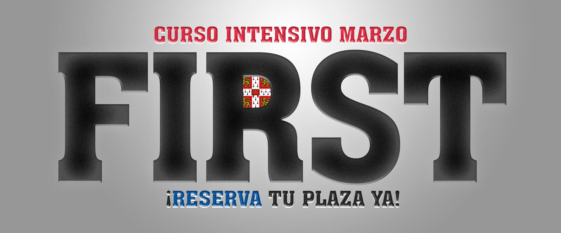Curso Intensivo First en Zaragoza